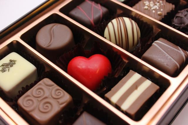 洋酒入りのチョコレート