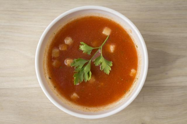 妊娠中に吐きやすい野菜スープ