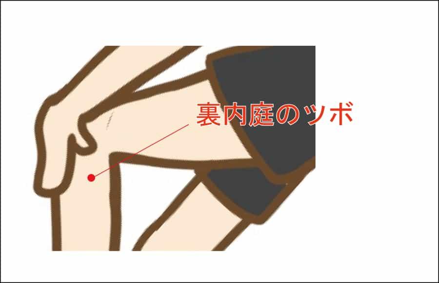 つわりに効く足三里のツボ
