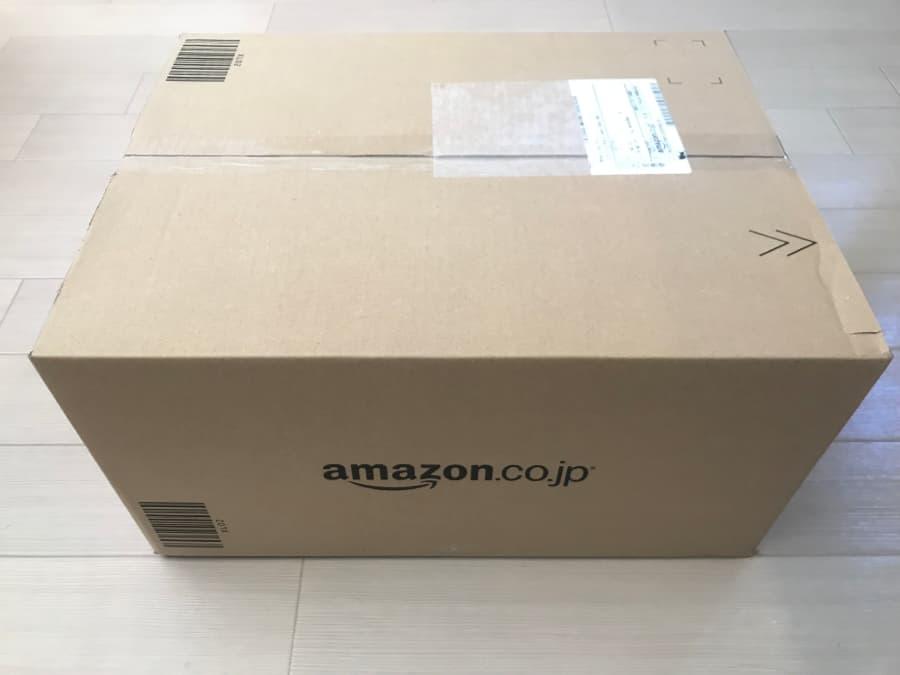 ベビーレジストリ「出産準備お試しBox」の箱