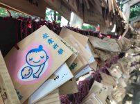 川越氷川神社の安産祈願の絵馬