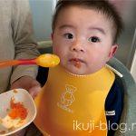0歳児の離乳食2週間目~はじめてのお野菜「にんじん」
