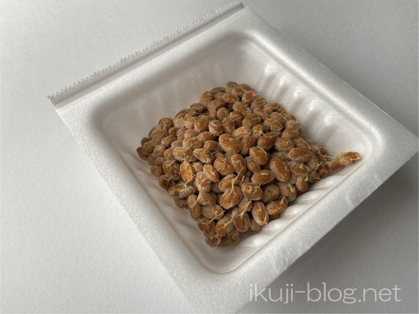 パック入りの納豆