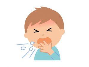 食物アレルギーの粘膜の症状例