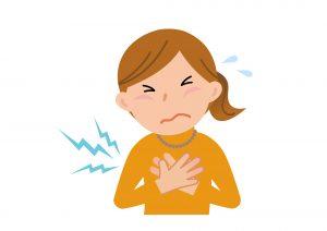 食物アレルギーの呼吸器の症状例