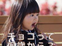 意外と知らない親が多い!チョコは何歳から食べさせてOK?