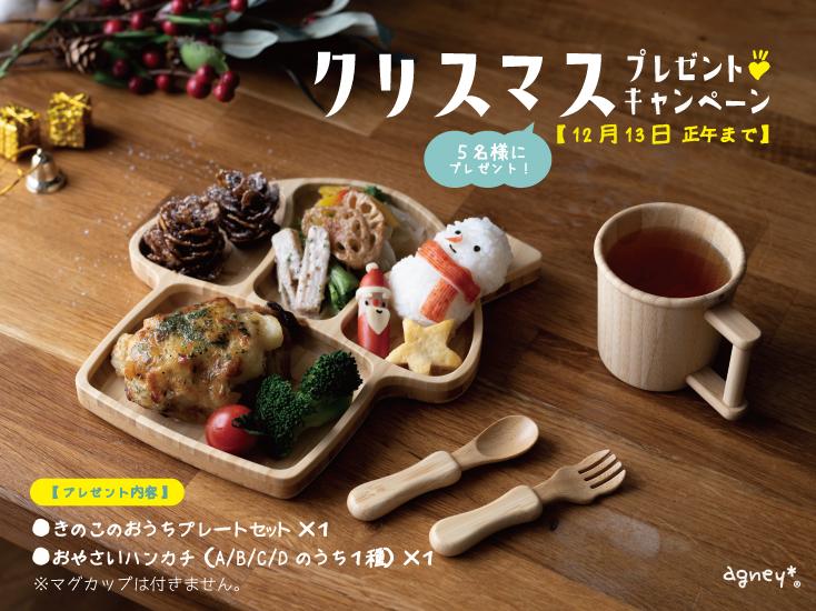 12/13まで!「agney」クリスマスプレゼントキャンペーン開催